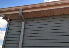 New Sealess Gutter System in Westport