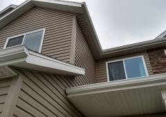 New Seamless Gutter System in West Fargo