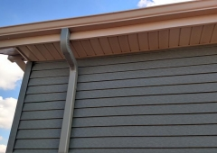 New Sealess Gutter System in Westport