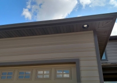 New Seamless Gutter System at Crofton Cove.