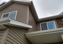 New Seamless Gutter System in West Fargo
