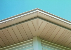 New Seamless Gutters and Fascia