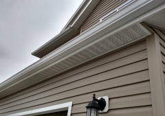 Seamless Gutter System and Fascia in West Fargo