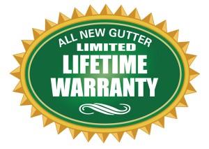 Warranty All New Gutter